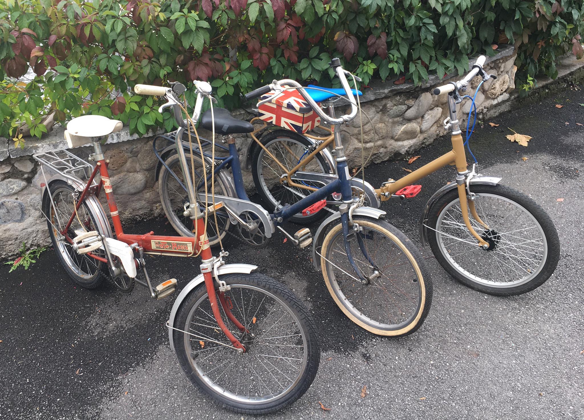 Vélos pliables vintage