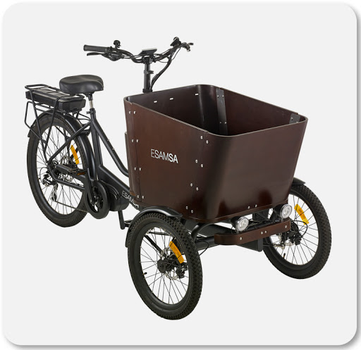 Exclusivité: Tricycle Esamsa
